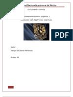 Informe Extraccion Con Disolventes Organicos
