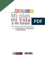 Orientaciones Pedagógicas Para La Educación Económica y Financiera