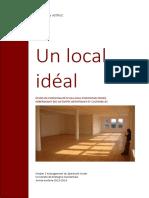 Un Local Idéal Jean Marie ASTRUC Projet V1.11