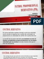 Control Proporcional Derivativo (PD)
