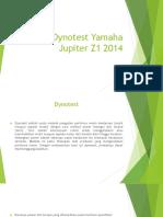 Dynotest Yamaha Jupiter Z1 2014