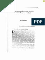 BIEHL João Guilherme [ ] a Guerra Dos Migrantes - o Espírito Alemão e o Estranho Mucker No Sul Do Brasil [ ] BR 021