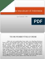 Terbentuknya Kepulauan Di Indonesia