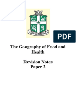 Food and Health Revision Bible