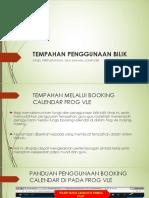 Panduan Booking Calendar Bilik Khas