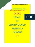 6 Plan de Contingencias SISMOS