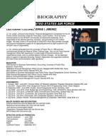 Jorge Jimenez - Air Force FYI  - 2016
