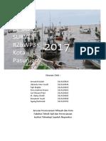 Desain Survei RZWP Kota Pasuruan