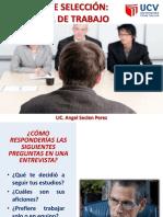 8 Sesión Proceso de Selección Entrevista de Trabajo