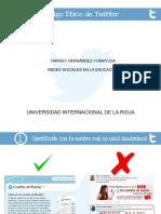 Código Ético Twitter