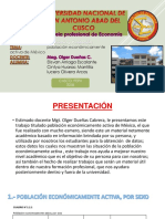 Población Económicamente Activa de México[1]