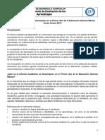 Informe Cualitativo de Avance
