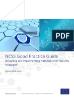 Good Practice Guide - Designing and Implementing National Cyber Security Strategies NCSS (ENISA 2016)