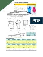 Especificaciones Sensor 100a
