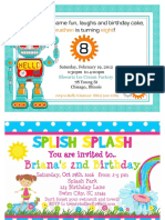 Example of Birthday Card for TEFL