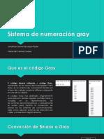Sistema de Numeración Gray