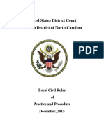 Local Civil Rules December 2015