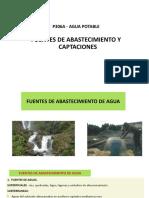 Fuentes de Agua y Captaciones Subterraneas