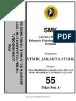 B. Inggris SMK Paket a syarif