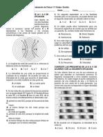 Evaluación de Física 11º Sonido