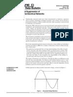 Origen Efectos y Supresion de Armonicas en Sistemas Industriales