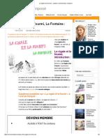 La Cigale Et La Fourmi _ Analyse _ Commentaire Composé