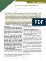 Pangan Dan Perubahan Iklim (Climate Change, Food, Water and Population Health in China)