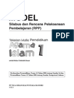 RPP Dan Silabus PAI SD1