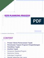 Site Planning Proccess