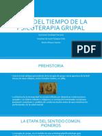 Linea Del Tiempo psicoterapia grupal