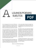 Poemas de Carlos Martínez Rivas
