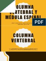 Columna Vertebral y Médula Espinal