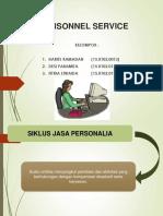 Personnel Service - Fix