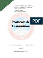 Protocolo de Transmisión