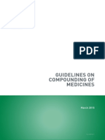 Pharmacy Board Guidelines Guidelines on Compounding of Medicines
