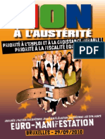 Tract Euro-Manifestation du 29 septembre 2010