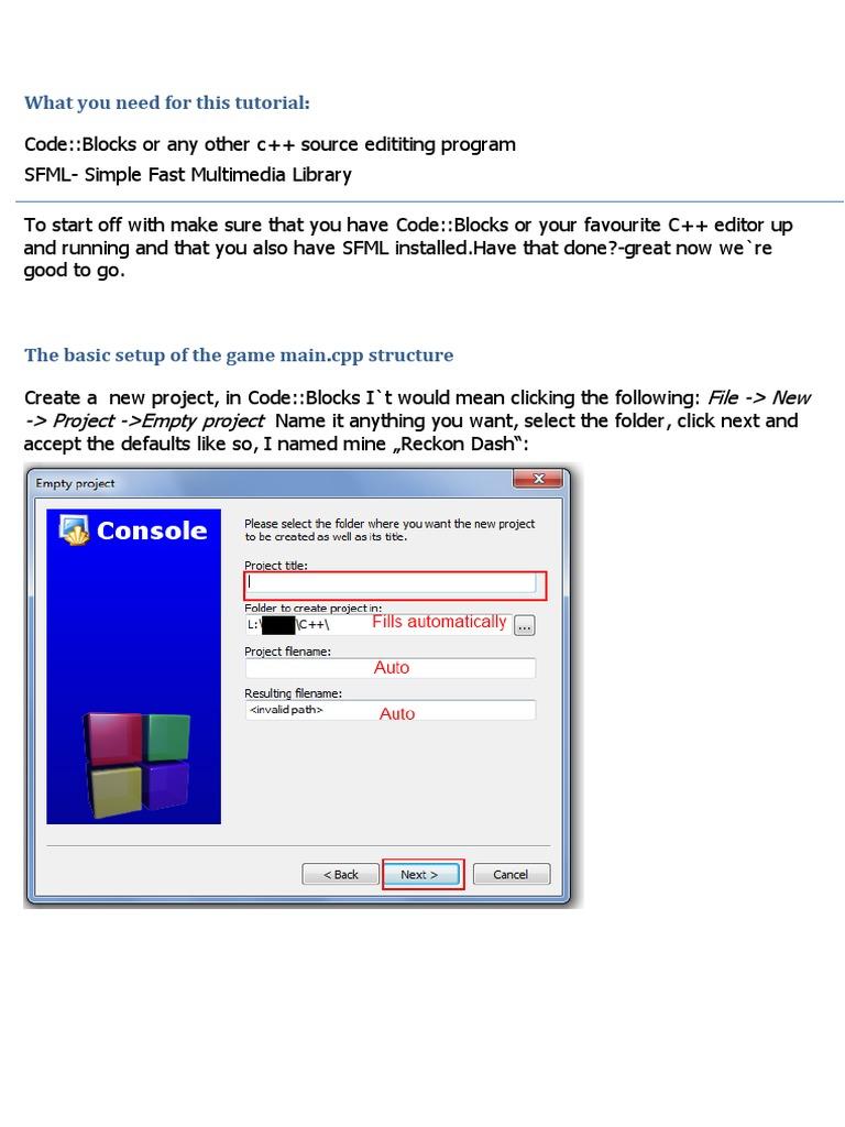 RPG Tutorial 1 | Computer File | Software Development