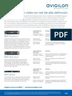 NVR Product Family Flyer_SPANISH(2)