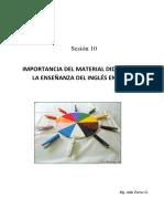 Separata 10 Importancia Del Material Didáctico en La Enseñanza Del Inglés.