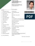 01. Formulir Lamaran TUBEL Drg Doni