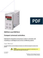 RWF55 Temperature Pressure Burner Controller User Manual u7867en