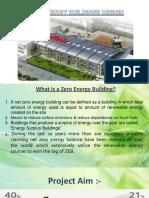 Zero Energy Building Final