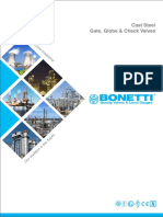 Gate, Check, Globe Valve - Bonneti