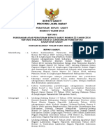 Perbupno 5 Th 2018 Ttg Perubahan Perbup Pakain Dinas Jadiiii