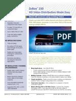 ZvBox 150 Spec Sheet