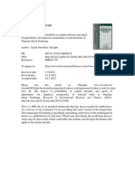 The Impact of Profitability on Capital Structure and Speed of Adjustment an Empirical Examination of Selected Firms in Nigerian Stock Exchange