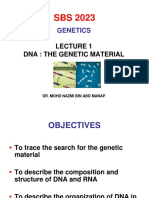 Lecture 1(DNA_The Genetic Material)