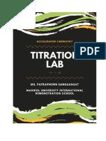 titration lab