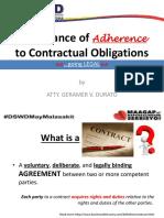 Contractual Obligations_Legal Aspects