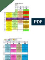 CCE Online Classes Schedule
